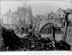 Arras en Octobre 1914.