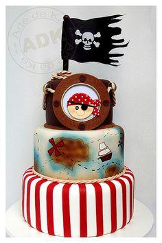 Bolo Pirata - Pirate cake