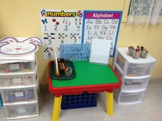 Preschool Ideas For 2 Year Olds: 2 year old writing center