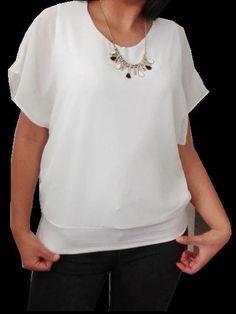 μπλουζα με δωρεαν πατρον σε τεσσερα μεγεθη, βιντεο Tops, Fashion, Moda, Fashion Styles, Fashion Illustrations