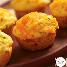 Cheesy Jalapeño Corn Muffins by The Power of Family Meals