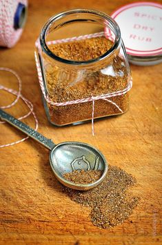 Spicy Dry Rub ~ To ALWAYS have on hand and great for gifts ... perfect for all meats and fish!