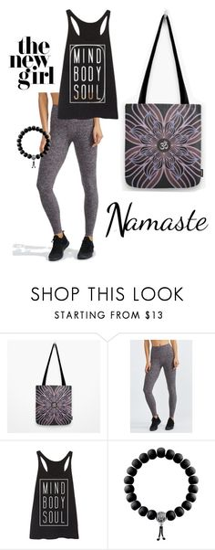 Yoga girl lyfestyle, yoga mom, yoga life | Mind body soul black tank top, Om symbol mandala pink purple tote bag, mala, purple leggings