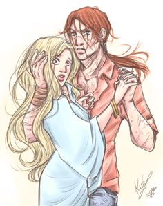 Bill and Fleur by sarumanka on deviantART