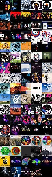 Discography – MuseWiki: Supermassive wiki for the band Muse  Me haré un marcapáginas de esto!