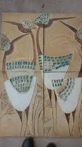 Risultati immagini per reliéfní ozdobný keramický kachel