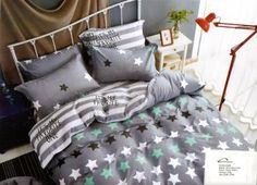 Collection world obliečky Bavlnený satén hviezda, 140x200, 70x80cm Comforters, Bedding, Blanket, Home, Creature Comforts, Blankets, Bed Linen, Ad Home, Homes