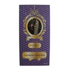 MarieBelle Caramelized Almond Bark Chocolate Bar