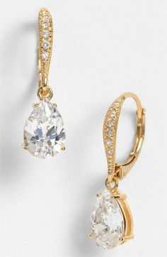 Nadri Princess Earrings available at Nordstrom these would be