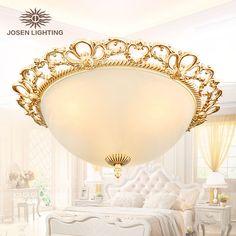 Barato 2016 nova chegada venda quente luzes de teto de liga do vintage de ouro…