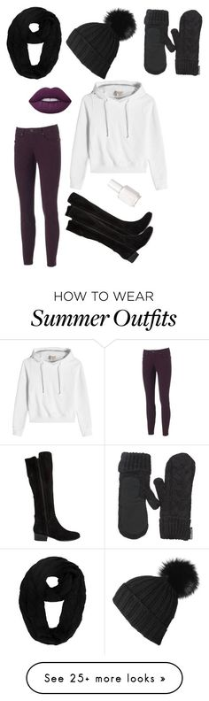Summer Outfits : Second Fall Outfit by lover-of-tea on Polyvore featuring Black Outdoor Resear