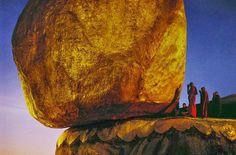 Golden rock ... Burma