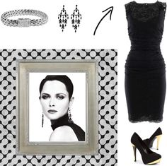 """""""Elegance ;)"""" by laura-restrepo on Polyvore"""