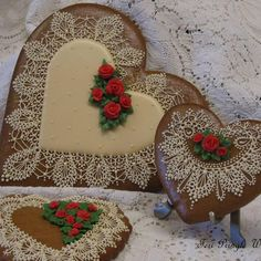 Gingerbread Lace    By Teri Pringle Wood
