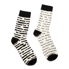 Look what I found at UncommonGoods: banned book socks... for $12 #uncommongoods