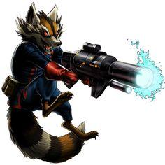 Rocket Racoon - Marvel: Avengers Alliance