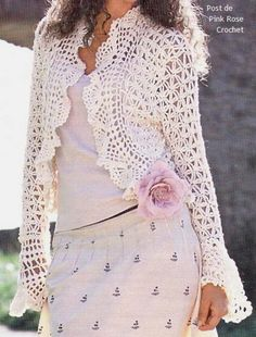 Crochet patterns for summer beautiful clothes.