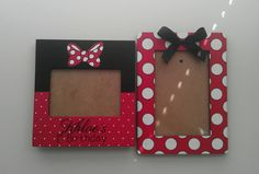 Hey, I found this really awesome Etsy listing at… Mickey Mouse Crafts, Mickey Mouse Decorations, Red Minnie Mouse, Disney Day, Disney Cruise, Mouse Parties, Themed Parties, Disney Frames, Disney Diy Crafts