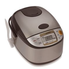 Zojirushi Rice Cooker #WilliamsSonoma....THE BEST THING YOU COULD EVER BUY!!!!! I LOVE how I don't have to guess if the rice is cooked right, this machine does all the thinking for you.  LOVE MINE!!!!!