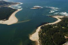 Desembocadura río Miño. A Guarda y Caminha. La desembocadura del río Miño en A Guarda (Pontevedra). Destino «Eden» de Excelencia Turística · National Geographic