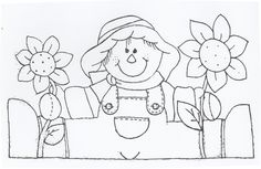 Őszike Scarecrow Crafts, Diy And Crafts, Crafts For Kids, Gata Marie, Board Decoration, Patch Aplique, Embroidery Patterns Free, Country Crafts, Preschool Art