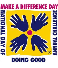 Saurday of October.Make A Difference Day: 28 Community Service Project Ideas For Groups, Families, and Individuals ~ There are some great ideas for meaningful service that even little kids can do- great for all year round! Service Projects For Kids, Community Service Projects, Service Ideas, Service Club, Make A Difference Day, National Honor Society, Student Leadership, Leader In Me, Student Council