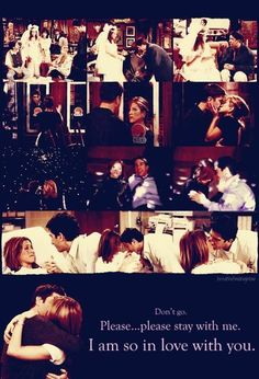 Ross and Rachel forever Serie Friends, Friends Moments, Friends Tv Show, Friends In Love, Friends Forever, Friends Cast, Friends Ross And Rachel, Best Sitcoms Ever, Movie Lines