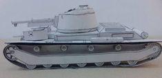 20/25TP Polish Concept Medium Tank Free Paper Model Download - http://www.papercraftsquare.com/2025tp-polish-concept-medium-tank-free-paper-model-download.html#150, #2025TP, #25TP, #MediumTank, #Tank