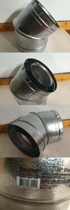 Heating Stoves 84184: Simpson Dura-Vent Gas Fireplace Stove 5 8 X 45 Deg Elbow # 58Dva-E45 1245 -> BUY IT NOW ONLY: $50 on eBay!