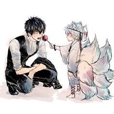 Manhwa Manga, Manga Anime, Anime Art, Anime Love, Anime Guys, Gintama, Gekkan Shoujo, Okikagu, Kawaii