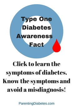 Raising awareness of the symptoms of diabetes is importatnt. Frequently the symptoms resemble flu. Diabetes is sometimes not diagnosed and misdiagnosed res Type One Diabetes, Beat Diabetes, Diabetes Meds, Diabetes Awareness, Diabetes Facts, Cure Diabetes Naturally, Diabetes Treatment, Diabetes Management, Fun To Be One