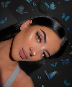 baddie makeup – Hair and beauty tips, tricks and tutorials Makeup Goals, Makeup Inspo, Makeup Inspiration, Makeup Tips, Hair Makeup, Makeup Brands, Makeup Brush, Makeup Tutorials, Makeup Ideas