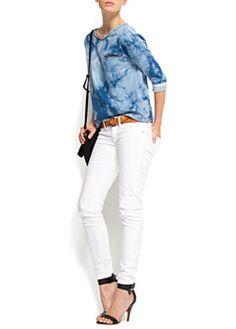Super slim low waist jeans