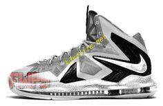 Nike Lebron X Elite Grey Wolf Lebron James Images fa0d73f26d6d