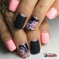 25 Latest & Stylish Pink Nail Art Ideas – The Second Part –