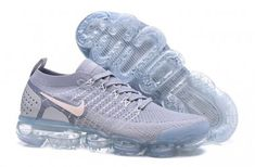 6631945359 Perfect Nike Air VaporMax Flyknit 0 W White Grey 942843 108 Mens Womens  Running Shoes Summer Trainers