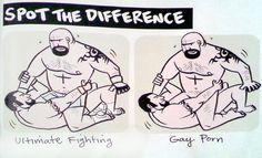 UFC vs. Gay Porn