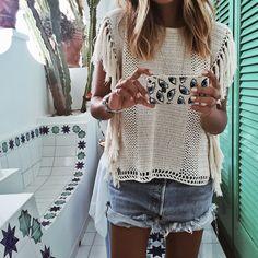Summer Crochet ❥ 4U hilariafina  http://www.pinterest.com/hilariafina/