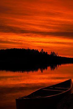 Ontario Sunset, Canada