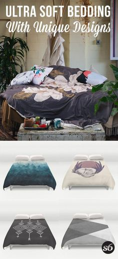 Cover yourself in creativity with our ultra soft microfiber duvet covers. Hand sewn and meticulously crafted. Shop thousands of duvet covers and more designed by independent artists all over the world.