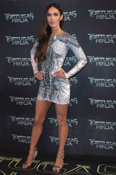 Mexico City 'TMNT' Premiere Something was bugging Fox when she headed south of the border for the Mexican premiere on July 30. The brunette wore this white, insect-inspired Zuhair Murad minidress, which showed off her long legs, but covered almost everything else.