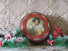 Red and Gold Christmas by Kristin on Etsy