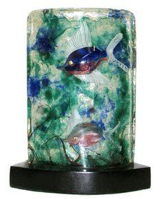 Alfredo Barbini Mid-Century Murano Glass Aquarium