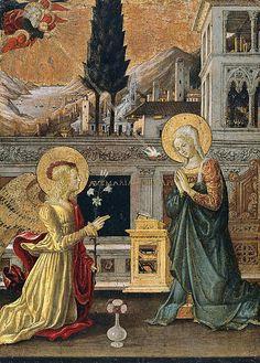 The Annunciation  Benedetto Bonfigli