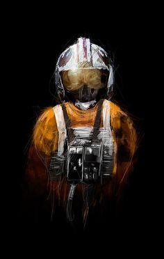STAR WARS Pilot Art Series by Rafał Rola