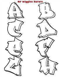 mr wiggles karate alphabet 1