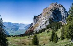 Climbing the Grosser Mythen in Switzerland, 47 hairpin turns and all Gondola Lift, Places To Travel, Places To Visit, Mountain Hiking, Great View, Hiking Trails, Switzerland, Climbing, Mountains
