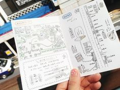 旅のしおり。 | おいしいごはんと、そらの日々。 Treasure Maps, Picture Design, Travelers Notebook, Bullet Journal, Notes, Drawings, Pictures, Image, Notebooks
