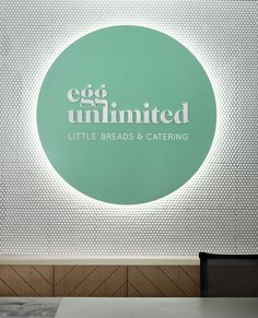 Our new brand colours feature in our office signage designed by Studio Brave. LOVE!