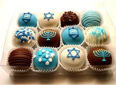 Hanukkah Truffles